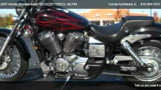2. 2007 Honda Shadow Spirit 750 DC (VT750DC)  - for sale in Crystal Lake, IL 60014
