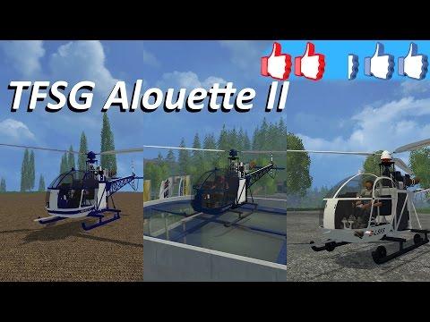 TFSG ALOUETTE II V2 GENDARMERIE
