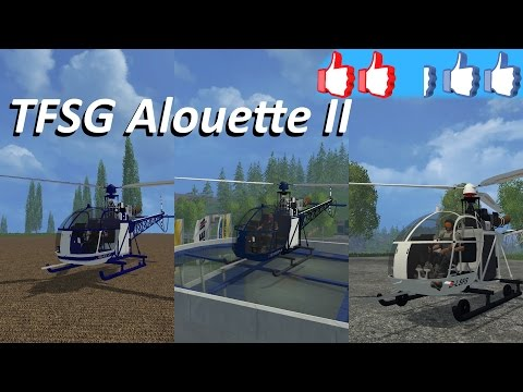 TFSG ALOUETTE 2 V2 CIVILS AIR tfsgroup