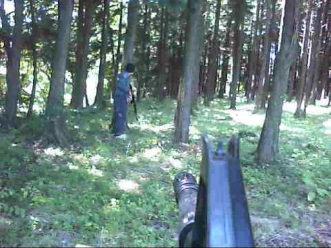 ravagex1 - First Pinoy Shooter (FPS) using an M4 Grenadier. Pinoy airsofters from Gotemba city, Japan (16Aug09). Made this using a pocket video recorder.