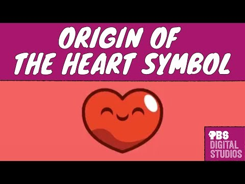 Video Origin Of The Heart Symbol Valentines Day Content New