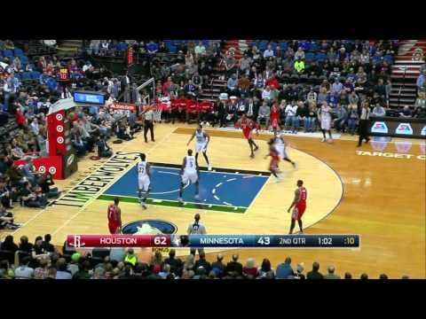 NBA Highlights: Rockets @ Timberwolves 4/11/2016