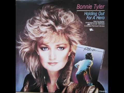 Bonnie Tyler - Holding Out For A Hero (Dance Version - Jellybean  Remix)