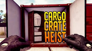 Video Stealing Expensive Items From Cargo Crates - Warehouse Heist - Thief Simulator Gameplay MP3, 3GP, MP4, WEBM, AVI, FLV September 2019