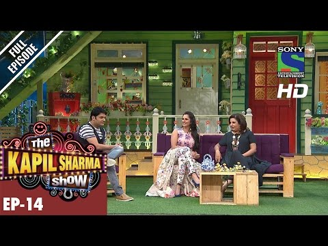The Kapil Sharma Show - दी कपिल शर्मा शो–Ep-14-Sania Mirza & Farah Khan – 5th June 2016 (видео)