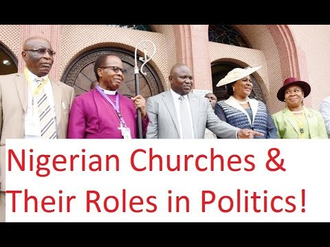 Naija Churches And Their Divisive Roles in Politics - Segun O'Law