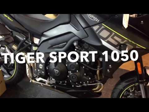Triumph Tiger Sport 1050 model 2016