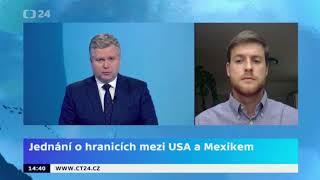 Aktuální situace na hranicích Mexika s USA