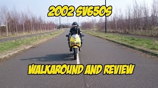8. 2002 SV650s walkaround and review