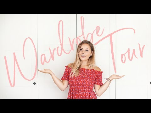 WARDROBE TOUR! | Hello October (видео)