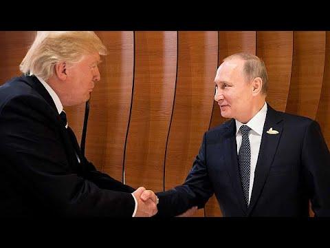 Τραμπ και Πούτιν! Η πρώτη τους χειραψία – ΒΙΝΤΕΟ