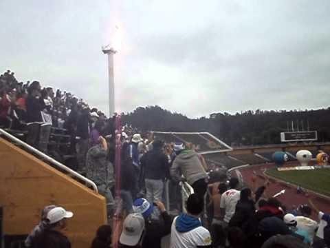 KAÑA BRAVA , SHOW DE LUCES' EN COLLAO - Kaña Brava - Naval de Talcahuano - Chile - América del Sur