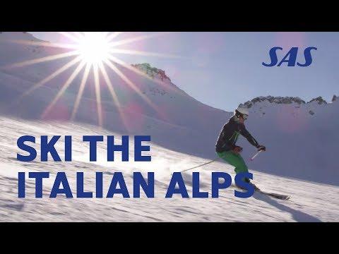 A glimpse at the Italian Alps