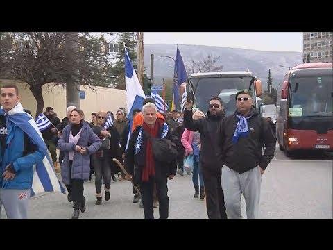 Πούλμαν από όλη την Ελλάδα κατέφθασαν για το συλλαλητήριο