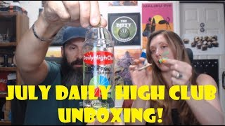 July Daily High Club Unboxing by Pedro's Grow Room