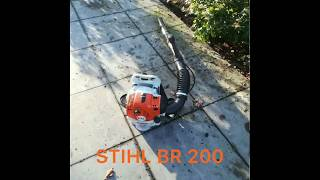 1. STIHL BR 200 Backpack Blower ✔