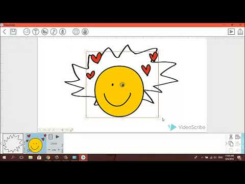 MAKING A VIDEO BY VIDEOSCRIBE PRO