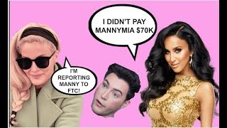 MANNYMUA PAID $70K BY LILLY GHALICHI TO TRASH LASHIFY? MAKES 1 MILLION FROM BETTER HELP LINK?
