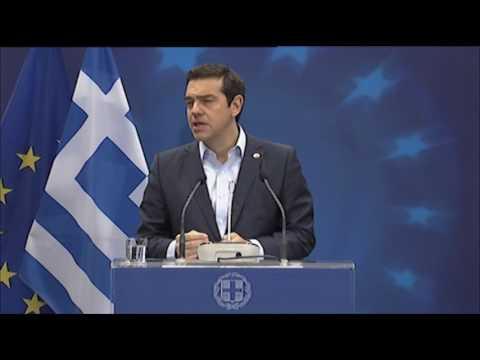 Συνέντευξη Τύπου μετά το πέρας της Συνόδου του Ευρωπαϊκού Συμβουλίου