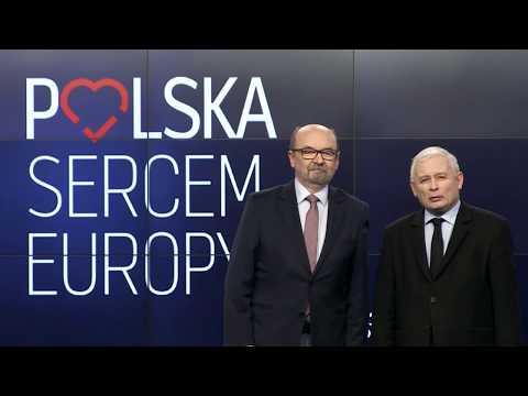Poparcie prezesa Jarosława Kaczyńskiego