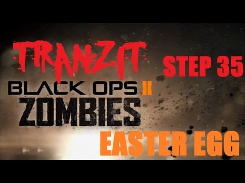 Tranzit Easter Egg/Breakdown Step 35: Red Dot Navcard, Gold Globe in Town [Black Ops 2 Zombies]