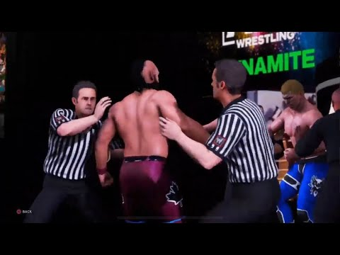 Wwe 2k20 AEW Dynamite Universe mode episode 7