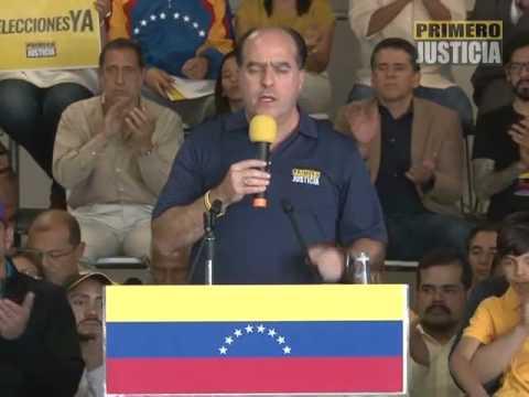 Julio Borges: AN apoyará mañana exigencia de elecciones en Venezuela hecha por la OEA