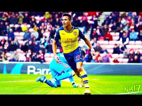Alexis Sánchez - Hattrick | Arsenal v/s West Ham (03/12/2016)