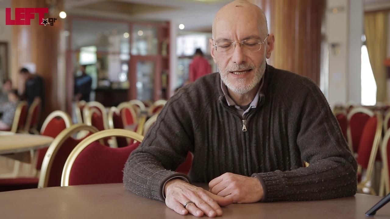 Γιώργος Βέργος – Εργαζόμενος στη δομή φιλοξενίας των Βιλίων Αττικής
