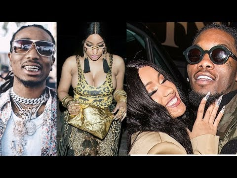 NICKI MINAJ and QUAVO getting TOGETHER to compete with CARDI B and OFFSET!