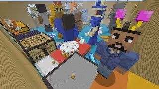Minecraft Xbox - Youtubers Party - Hunger Games