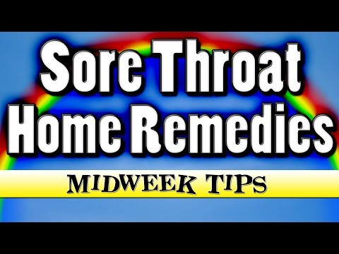 6 Sore Throat Home Remedies