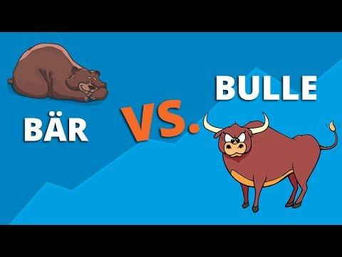 Bullenmarkt & Bärenmarkt einfach erklärt! | Hausse vs  Baisse | Forex traden lernen