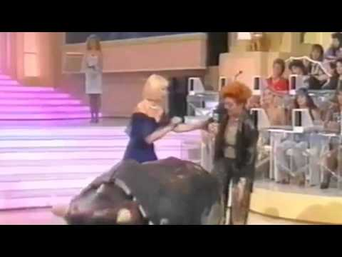 raffaella carrà e wanna marchi - video vintage