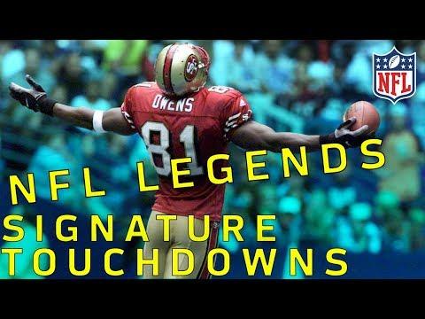 NFL Legends Signature TDs Part 1 | NFL Highlights (видео)