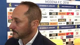 Modena Fc, intervista Carmelo Salerno
