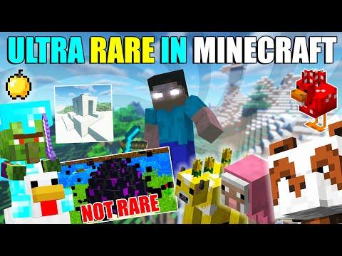 10 Rarest/Hardest things to get in Minecraft