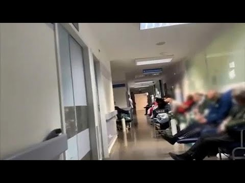 Συγκλονιστικές εικόνες από νοσοκομείο της Μαδρίτης