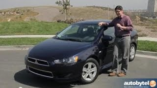 2013 Mitsubishi Lancer SE AWC Test Drive&Compact Car Video Review