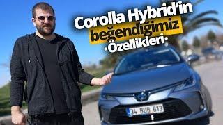 Toyota Corolla Hybrid'in Beğendiğimiz Teknolojileri!