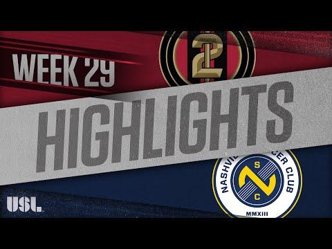 Atlanta United 2 - Nashville SC 0:2. Видеообзор матча 27.09.2018. Видео голов и опасных моментов игры
