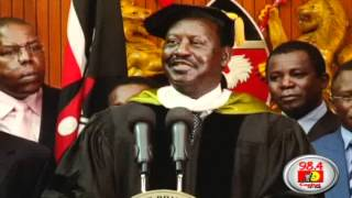 Resign as MP! Raila tells Mudavadi