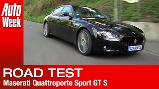 Maserati Quattroporte Sport GT S Road Test (English Subtitled)