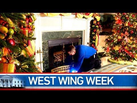 """West Wing Week: 12/24/10 or AKA Santa Claus"""""""