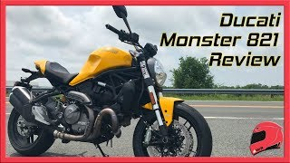 1. 2018 Ducati Monster 821 Review