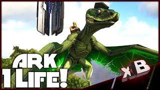 SkyViper Flying Snake! :: ARK Noob vs 1 Life Challenge! :: E06