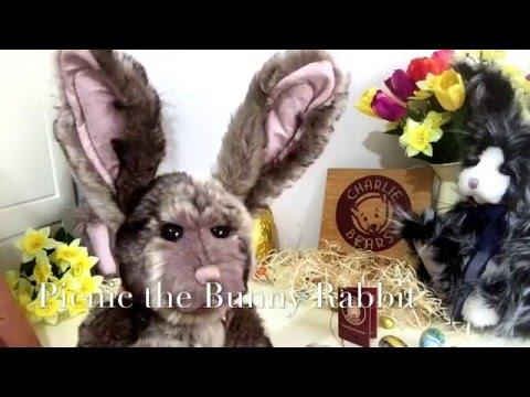 Charlie Bears Picnic the Bunny Rabbit CB141222