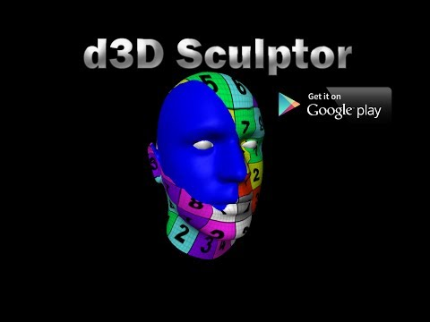 Video of d3D Sculptor FREE