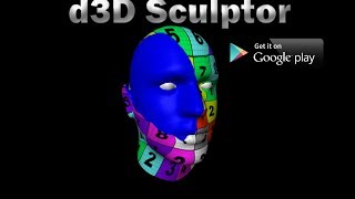 d3D Sculptor YouTube video