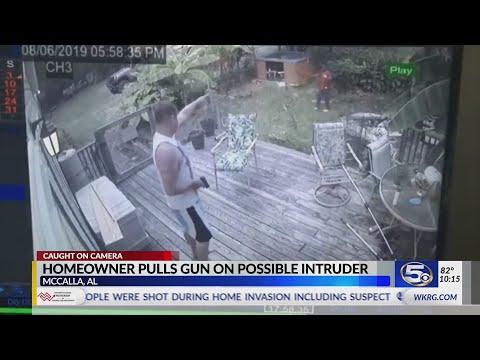 Ο νοικοκύρης έβγαλε όπλο στον κλέφτη